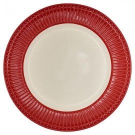 Talerz Dinner plate Alice red