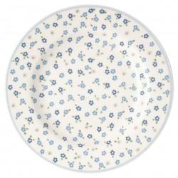 GG Small plate Ellise white