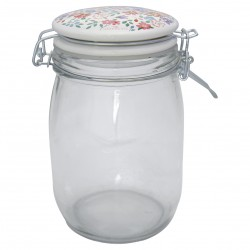 GG Storage jar Clementine white 1L