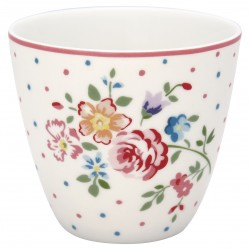 GG Latte cup Belle white