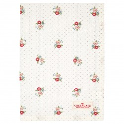 GG Tea towel Eja white