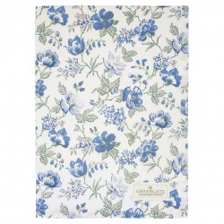 GG Tea towel Donna blue