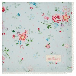 GG Napkin with lace Belle pale blue