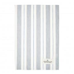 GG Tea towel Elinor pale grey