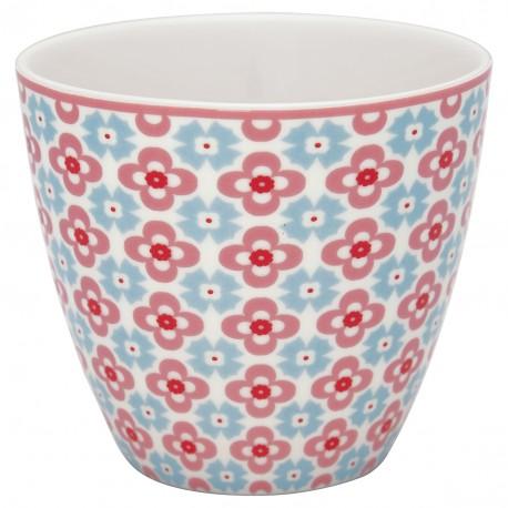 GG Latte cup Cordelia white