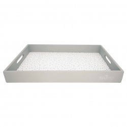 GG Tray Ellise white large