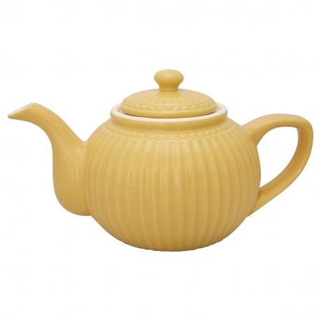 GG Teapot Alice honey mustard