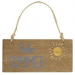 Holzschild Hello Summer