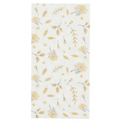 Serviette Yellow Leaves 16 Stck