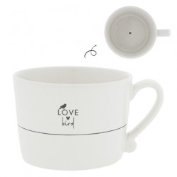 KUBEK  White/Love Bird BASTION COLLECTIONS