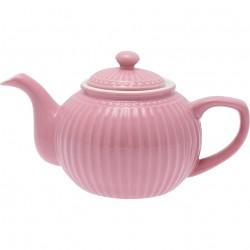 Teapot Alice dusty rose