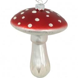 Christmas mushroom red hanging