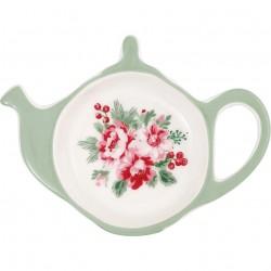 Teabag holder Charline white