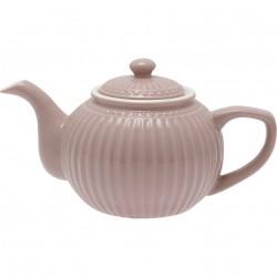 Teapot Alice hazelnut brown