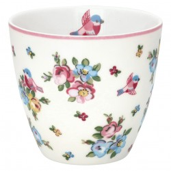 Latte cup Ellie white
