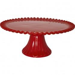 Cake stand Charline red medium
