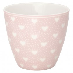 Latte cup Penny pale pink