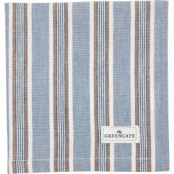 Napkin Ivah stripe blue