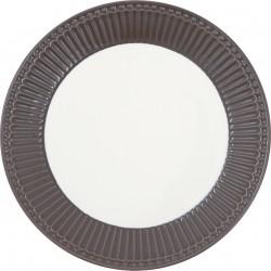 Plate Alice dark chocolate