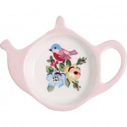 Teabag holder Ellie white