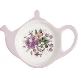 Teabag holder Marie dusty rose