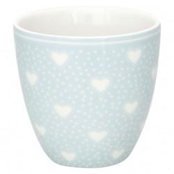 Mini latte cup Penny pale blue