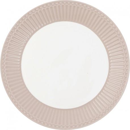 Plate Alice creamy fudge