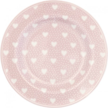 Small plate Penny pale pink