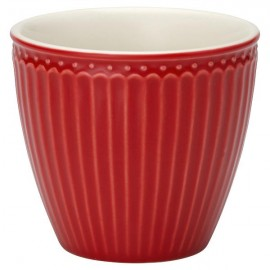 Kubek Latte cup Alice red
