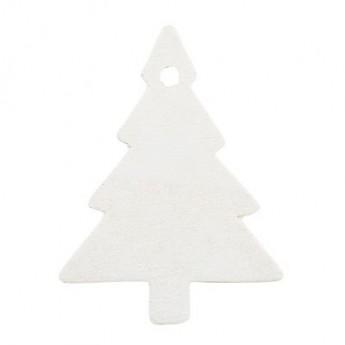 Juletræ pakkepynt hvid